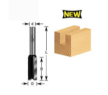 Straight Plunge Router Bits