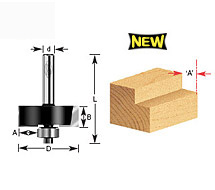 Rabbet Router Bits