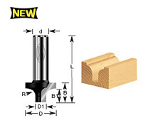 Round Over Groove Router Bits
