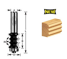 Triple Bead Router Bits