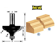 Classical Cove & Bead Router Bits