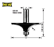 Table Edge Router Bits
