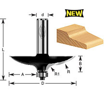Table Draw Edge Router Bits