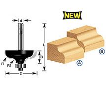 Ogee Router Bits