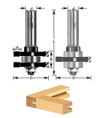 1-pc Tongue & Groove Assembly