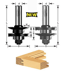 1-pc Traditional Stile & Rail Assembly