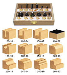 All Purpose Router Bit Sets