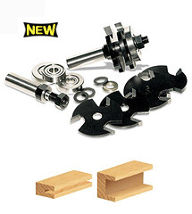 Multi 3-Wing Slot Cutter Set