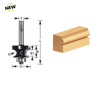 corner edge beading router bits by timberline